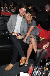 PATSY KENSIT and BARNEY ADDISON at the inaugural Gabrielle's Gala in London in aid of Gabrielle's Angel Foundation for Cancer Research held at Battersea Power Station, London on 7th June 2012.