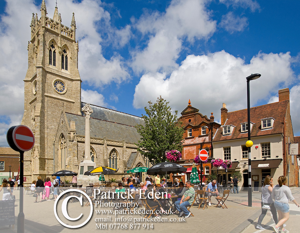 St Thomases Church, Square, Newport, Isle of Wight, England, UK Photographs of the Isle of Wight by photographer Patrick Eden photography photograph canvas canvases