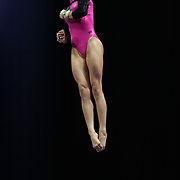 Kyla Ross, Aliso Viejo, California, in action on the vault during the Senior Women Competition at The 2013 P&G Gymnastics Championships, USA Gymnastics' National Championships at the XL, Centre, Hartford, Connecticut, USA. 15th August 2013. Photo Tim Clayton