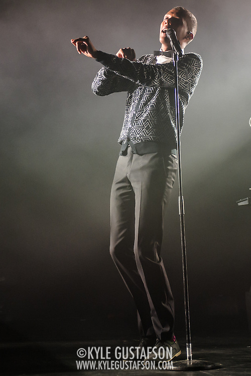 """Stromae performs at Echostage in Washington, D.C. His 2009 single """"Alors on danse"""", reached number one in several European countries."""