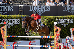 Springsteen Jessica, USA, RMF Swinny du Parc<br /> Longines FEI Jumping Nations Cup™ Final<br /> Barcelona 20128<br /> © Hippo Foto - Dirk Caremans<br /> 05/10/2018