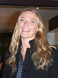 © Licensed to London News Pictures. 10/02/2014, UK. Jodie Kidd arrives on the green carpet to celebrate the VIP opening of the UK's first ever French skincare brand Caudalie Boutique, Covent Garden, London UK, 10 February 2014. Photo credit : Richard Goldschmidt/Piqtured/LNP