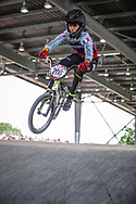 #208 (ISTIL Anaia) FRA at Round 6 of the 2019 UCI BMX Supercross World Cup in Saint-Quentin-En-Yvelines, France