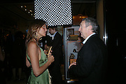 Countess Debbie von Bismark and Nick Mason. Party to celebrate Alfred Dunhill at the Goodwood Festival of Speed. Dunhill shop. 48 Jermyn St. London SW1. 9 June 2005. ONE TIME USE ONLY - DO NOT ARCHIVE  © Copyright Photograph by Dafydd Jones 66 Stockwell Park Rd. London SW9 0DA Tel 020 7733 0108 www.dafjones.com