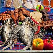 Flying fish for barbecue, Kenting, Pingtung County, Taiwan