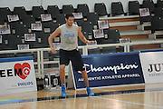 TRENTO TRENTINO BASKET CUP - 08082013 - ALLENAMENTO <br /> NELLA FOTO : ANGELO GIGLI<br /> FOTO CIAMILLO
