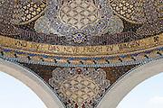 Kuppelmosaik an der Ausstellungshalle, Mathildenhöhe, Jugendstil, Darmstadt, Hessen, Deutschland | Centre of Art Noveau on Mathildenhoehe, Darmstadt, Germany
