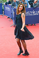 Zazie attends the 'Life' Premiere during the 41st Deauville American Film Festival on September 5, 2015 in Deauville, France