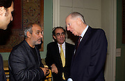 Ben Silverman, Alan Yentob, Robert Yentob and Lord Jacob rothschild, Private view of 'Heaven on Earth' exhibition. Hermitage. Somerset House. 24 March 2004. ONE TIME USE ONLY - DO NOT ARCHIVE  © Copyright Photograph by Dafydd Jones 66 Stockwell Park Rd. London SW9 0DA Tel 020 7733 0108 www.dafjones.com
