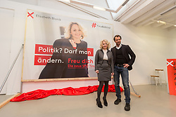 12.01.2018, Fotoforum West, Innsbruck, AUT, Landtagswahl Tirol, Präsentation der SPÖ Kampagne, im Bild v.l.: Landesparteivorsitzende LAbg. DI Elisabeth Blanik und Stv.-Landesparteivorsitzender Dr. Georg Dornauer // during the presentation of the SPÖ campaign for the upcoming Tyrolean state election at the Fotoforum West in Innsbruck, Austria on 2018/01/12. EXPA Pictures © 2018, PhotoCredit: EXPA/ Jakob Gruber