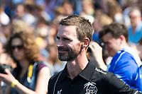 UTRECHT -  coach Alexander Cox (Kampong) voor   de finale van de play-offs om de landtitel tussen de heren van Kampong en Amsterdam (3-1). COPYRIGHT  KOEN SUYK
