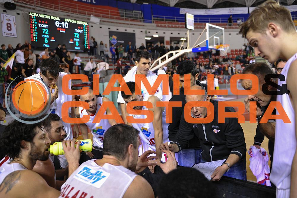 DESCRIZIONE : Roma LNP A2 2015-16 Acea Virtus Roma Paffoni Omegna<br /> GIOCATORE : Attilio Caja<br /> CATEGORIA : allenatore coach time out<br /> SQUADRA : Acea Virtus Roma<br /> EVENTO : Campionato LNP A2 2015-2016<br /> GARA : Acea Virtus Roma Paffoni Omegna<br /> DATA : 29/11/2015<br /> SPORT : Pallacanestro <br /> AUTORE : Agenzia Ciamillo-Castoria/G.Masi<br /> Galleria : LNP A2 2015-2016<br /> Fotonotizia : Roma LNP A2 2015-16 Acea Virtus Roma Paffoni Omegna
