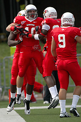 15 September 2012:  Alex Donnelly during an NCAA football game between the Eastern Illinois Panthers and the Illinois State Redbirds at Hancock Stadium in Normal IL