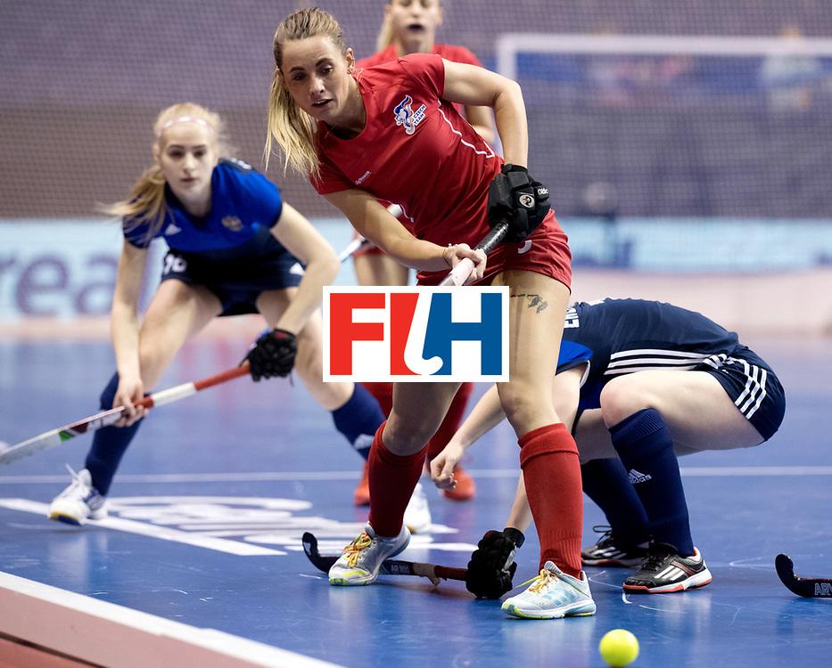 BERLIN - Indoor Hockey World Cup<br /> Women: Russia - Czech Republic<br /> foto: KOLAROVA Anna.<br /> WORLDSPORTPICS COPYRIGHT FRANK UIJLENBROEK