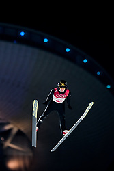 February 8, 2018 - Pyeongchang, SOUTH KOREA - 180208 Andreas Wellinger of Germany competes during the Men's Normal Hill Individual Qualification ahead of the 2018 Winter Olympics on February 8, 2018 in Pyeongchang..Photo: Jon Olav Nesvold / BILDBYRN / kod JE / 160146 (Credit Image: © Jon Olav Nesvold/Bildbyran via ZUMA Press)