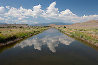 First major Rio Grande irrigation canal at Del Norte, Colorado