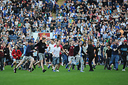 Pitch invasion during the EFL Sky Bet League 1 match between Blackburn Rovers and Oxford United at Ewood Park, Blackburn, England on 5 May 2018. Picture by Mark Pollitt.