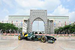 02-04-2011 AUTOSPORT: FORMULE 1 MALAYSIA: KUALA LUMPUR<br /> Sepang-International-Circuit / Lotus live street demonstration in Putrajaya Malaysia<br /> **NETHERLANDS ONLY**<br /> ©2011-WWW.FOTOHOOGENDOORN.NL/EXPA/ NPH/ Dieter Mathis