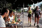 People watching on Ocean Drive  South Beach - Miami Beach, FL