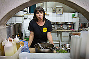 Rachmos restaurant, Machane Yehudah, Jerusalem, Israel. Portrait/Magazine Photography by Debbie Zimelman, Modiin, Israel