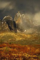 The jagged, dramatic peaks of the Yukon's Tombstone Territorial Park.