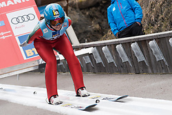 February 8, 2019 - Ljubno, Savinjska, Slovenia - Lidiia Iakovleva of Russia on first competition day of the FIS Ski Jumping World Cup Ladies Ljubno on February 8, 2019 in Ljubno, Slovenia. (Credit Image: © Rok Rakun/Pacific Press via ZUMA Wire)