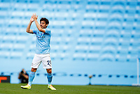 Football - 2019 / 2020 Premier League - Manchester City vs Norwich City<br /> <br /> David Silva of Manchester City at the Etihad Stadium.<br /> <br /> COLORSPORT/LYNNE CAMERON