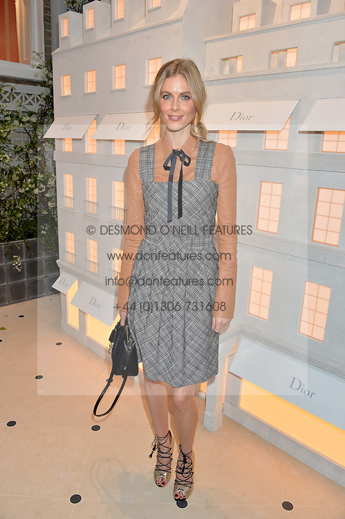 DONNA AIR at a cocktail party to mark the opening of the House of Dior, the United Kingdom's largest and premier Dior boutique at 160-162 New Bond street, London on 8th June 2016.