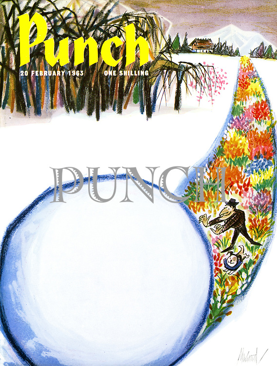 Punch cover 20 February 1963