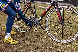 Eddy Fine (FRA), Men Juniors, Cyclo-cross World Championship Tabor, Czech Republic, 31 January 2015, Photo by Pim Nijland / PelotonPhotos.com