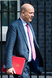 Leader of the House of Commons Chris Grayling leaves Prime Minister David Cameron's final cabinet meeting following Theresa May's anticipated takeover as Leader of the Conservative Party and Prime Minister on Wednesday 13th July 2016.