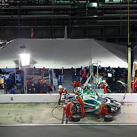 Daytona Beach, FL - Dec 30, 2015:  The IMSA WeatherTech Sportscar Championship teams take to the track for a practice session for the Rolex 24 at Daytona at Daytona International Speedway in Daytona Beach, FL.