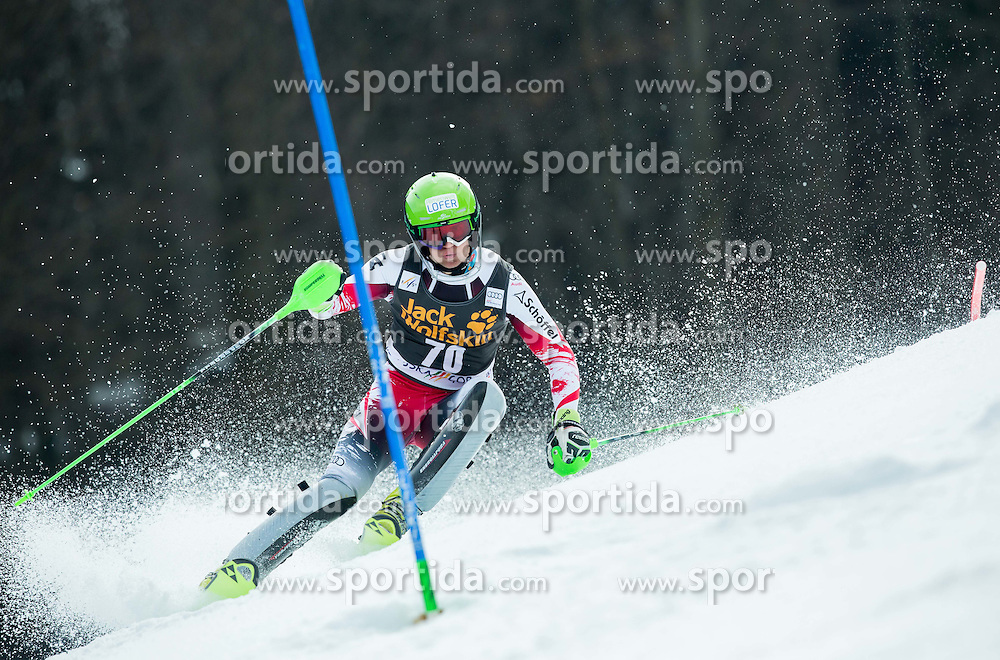 LEITINGER Roland of Austria competes during 1st Run of Men Slalom race of FIS Alpine Ski World Cup 54th Vitranc Cup 2015, on March 15, 2015 in Kranjska Gora, Slovenia. Photo by Vid Ponikvar / Sportida