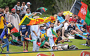Cricket Fans during the ICC Cricket World Cup match between Afghanistan and Sri Lanka at university oval in Dunedin, New Zealand. Photo: Richard Hood/photosport.co.nz