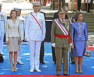 Spanish Royals Attend Military Parade, Madrid