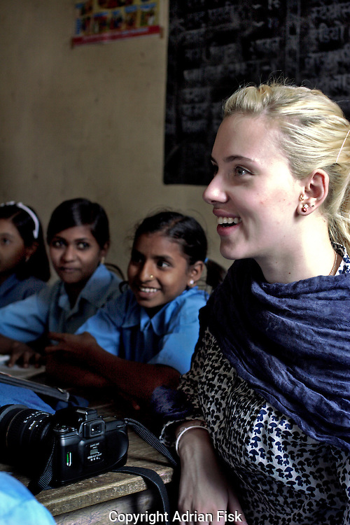 Enjoying a class at the Purvaiachal dalit Balika school in Ghazipur district in Uttar Pradesh