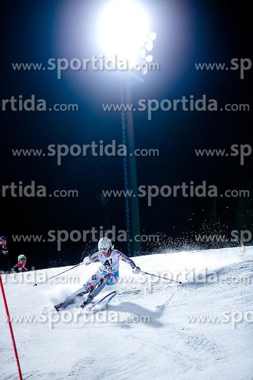 13.01.2015, Hermann Maier Weltcupstrecke, Flachau, AUT, FIS Weltcup Ski Alpin, Flachau, Slalom, Damen, 1. Lauf, im Bild Anemone Marmottan (FRA) // Anemone Marmottan (FRA) in action during 1st run of the ladie's Slalom of the FIS Ski Alpine World Cup at the Hermann Maier Weltcupstrecke in Flachau, Austria on 2015/01/13. EXPA Pictures © 2015, PhotoCredit: EXPA/ Johann Groder