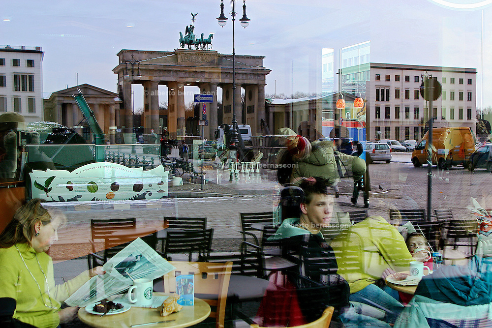 Berlin: café in Charlottenburg