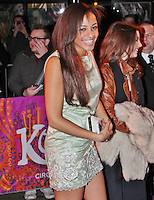 LONDON - January 08: Amal Fashanu at the Kooza Cirque Du Soleil - VIP Night (Photo by Brett D. Cove)