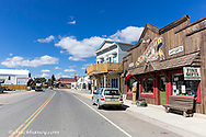 Small town of Augusta, Montana, USA