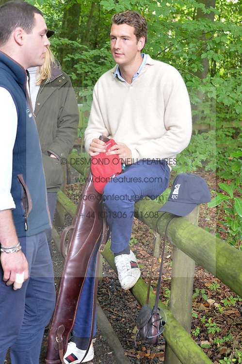 at Young Guns raising money for the fight against breast cancer trough Cancer Research UK held at EJ Churchill Shooting School followed by lunch at West Wycombe Park, England. 23 September 2017.