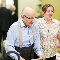 28.05.2015<br /> Residents of Jewish Care's Otto Schiff House and Rela Goldhill Lodge have a celebratory afternoon tea, to mark the occasion of the residents of Rela Goldhill Lodge moving into Otto Schiff House. <br /> (c) Blake Ezra Photography Ltd. 2015<br /> www.blakeezraphotography.com