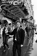 Malcolm McLaren, The Sex Pistols Manager in Paris - 1980