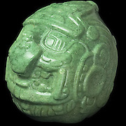 The jadehead, Museum of Belize, Belize City, Belize
