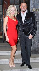 © Licensed to London News Pictures. 29/03/2014, UK. Kristina Rihanoff & Robin Windsor, Attitude Magazine - 20th Birthday Party, Grosvenor House Hotel, London UK, 29 March 2014. Photo credit : Brett D. Cove/Piqtured/LNP