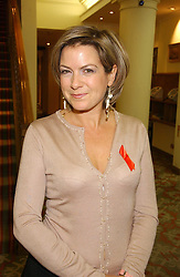 TV presenter PENNY SMITH at the Lighthouse Gala Auction in aid of the Terrence Higgins Trust held at Christie's, St.James's, London on 15th March 2006.<br />