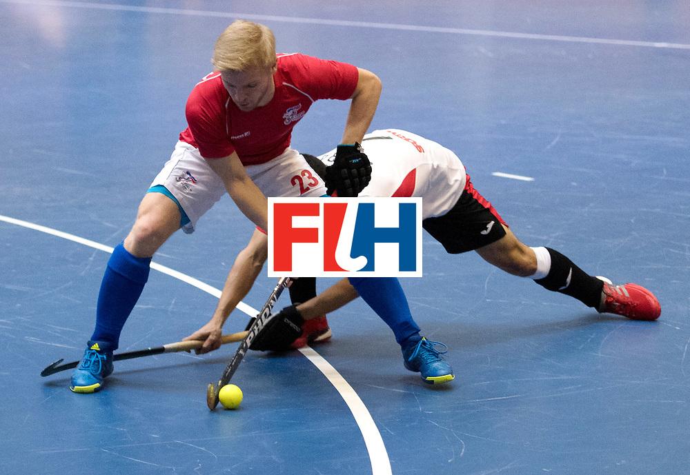 BERLIN - Indoor Hockey World Cup<br /> Czech Republic - Trinidad &amp; Tobago<br /> foto: CAPOUCH Martin<br /> WORLDSPORTPICS COPYRIGHT FRANK UIJLENBROEK