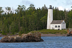 Rock Harbor Lighthouse, Isle Royale National Park, Michigan, United States of America