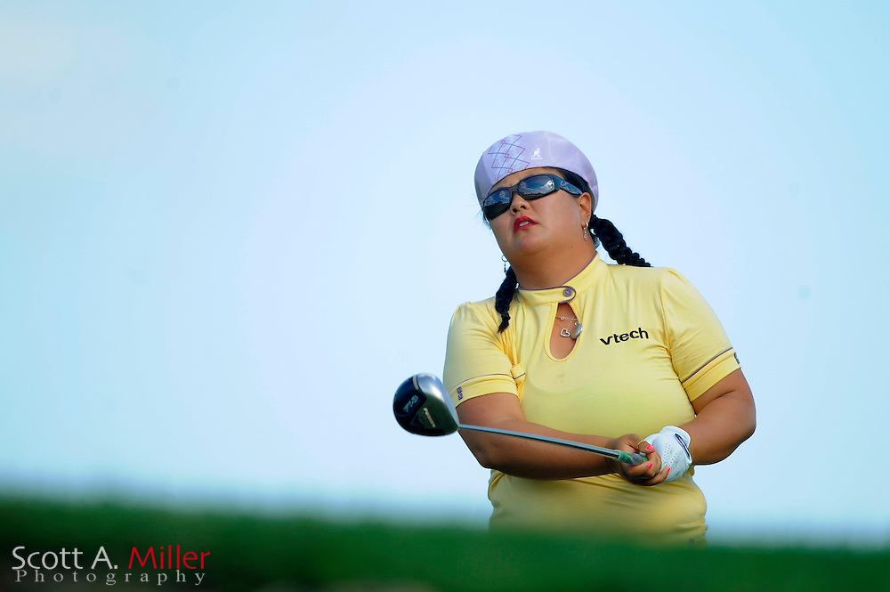 Christina Kim in action during the first round of the Ginn Open at Reunion Resort on April 17, 2008 in Reunion, Florida...©2008 Scott A. Miller