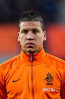 WAALWIJK - Jong Oranje - Jong Noorwegen, oefeninterland, Mandemakers stadion, 25-03-2013, voetbal, seizoen 2012-2013. Jong oranje speler Jeffrey Bruma.